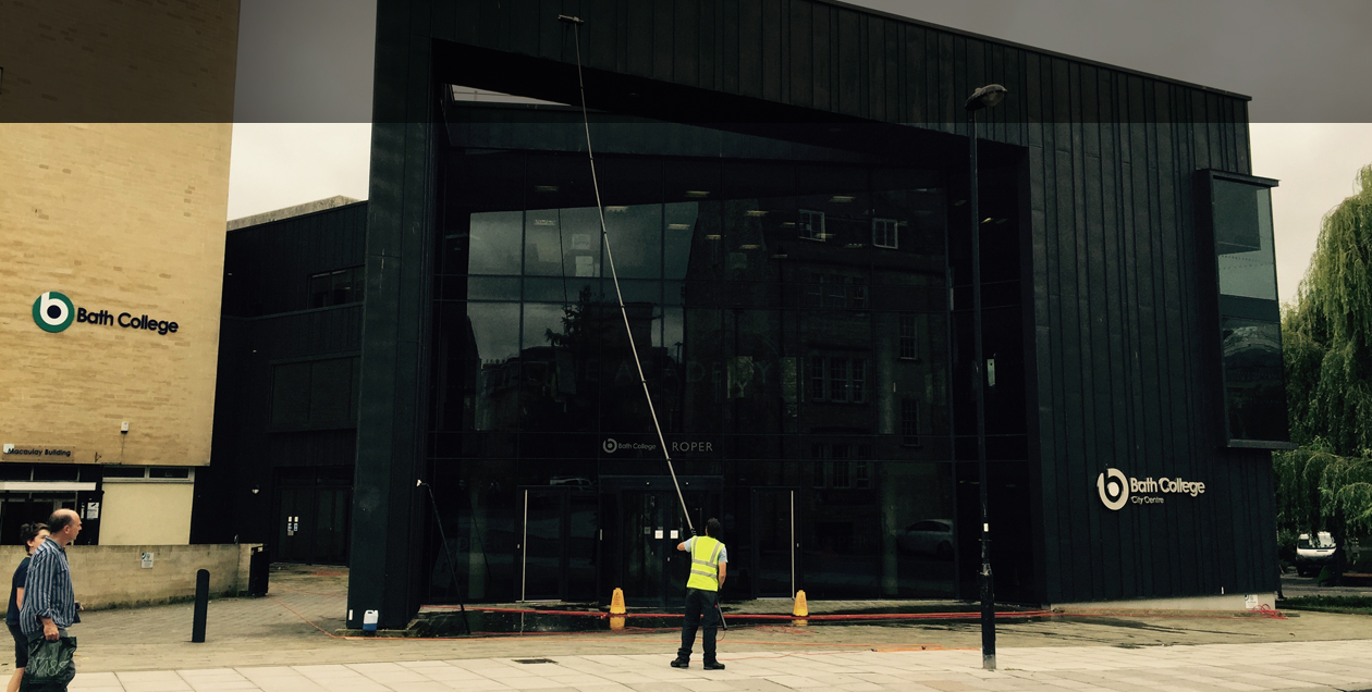 WINDOW CLEANING FOR BATH BUSINESSES